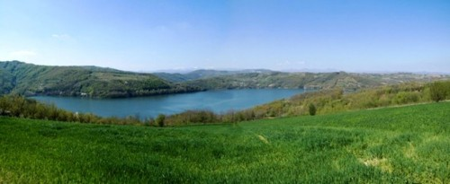 JEZERO 1 Panorama jezera