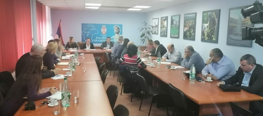 MEETING OF THE REPRESENTATIVES OF THE CITY OF KRUŠEVAC, BRUS AND BLACE MUNICIPALITIES REGARDING THE  CONSTRUCTION OF THE REGIONAL WASTE WATER TREATMENT PLANT