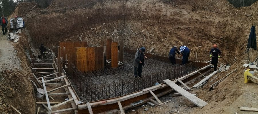 WORKS ON THE CONSTRUCTION OF THE TANK IN THE SETTLEMENT OF VELIKA LOMNICA ARE IN PROGRESS