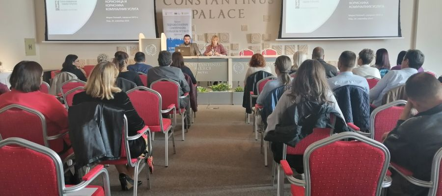 ORGANIZED  BY THE STANDING  CONFERENCE OF TOWNS AND MUNICIPALITIES A ROUND TABLE IN THE CITY OF NIŠ WAS HELD