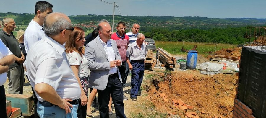 THE EXECUTION OF WORKS ON THE CONSTRUCTION OF THE GRKLJANE RESERVOIR HAS BEEN VISITED